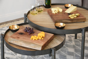 Live Edge Cutting Board / Wine & Cheese Board - Large