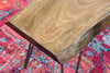 Live Edge Slab Distressed Coffee Table