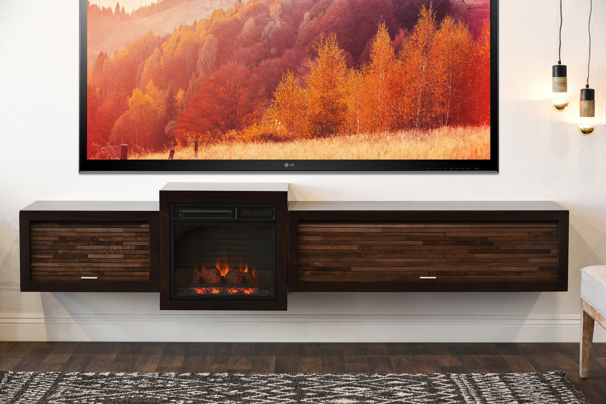 design signature insert item by large and speaker rogness stands fireplaces stand number products with ashley w tv fireplace