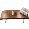 Mid Century Modern Live Edge Coffee Table