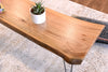 Natural Live Edge Coffee Table