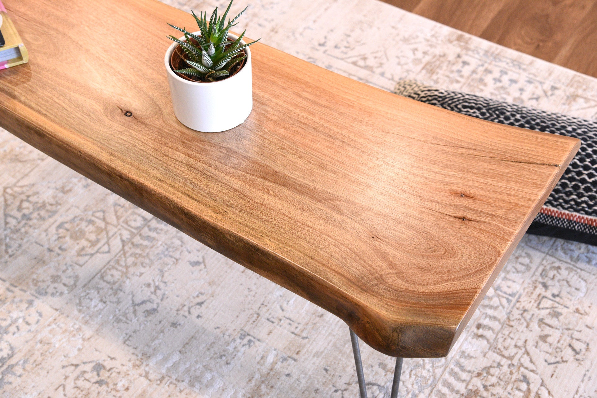 Natural Live Edge Coffee Table Woodwaves