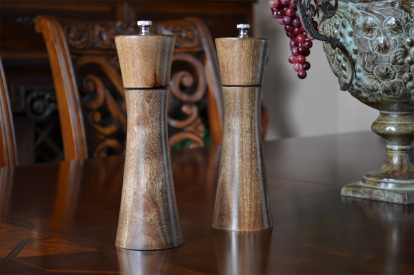 Retro Salt And Pepper Mills Woodwaves