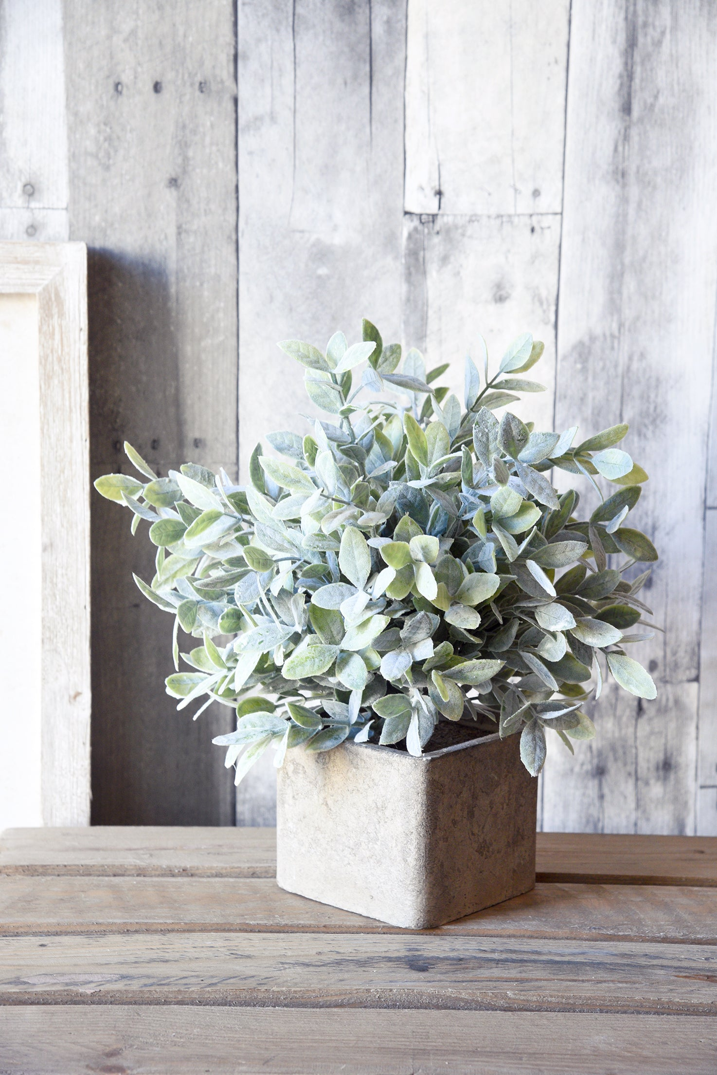 Artificial Sage Bush Plant With Pot