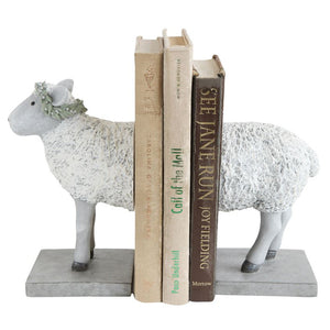 Modern Kids Sheep Bookends