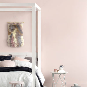 Shag Wall Art Tapestry - Pink Ivory Blue Gray