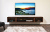Wall Mounted Floating TV Stand Entertainment Center - ECO GEO Mocha