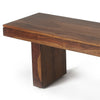 Modern Wood Coffee Table Bench