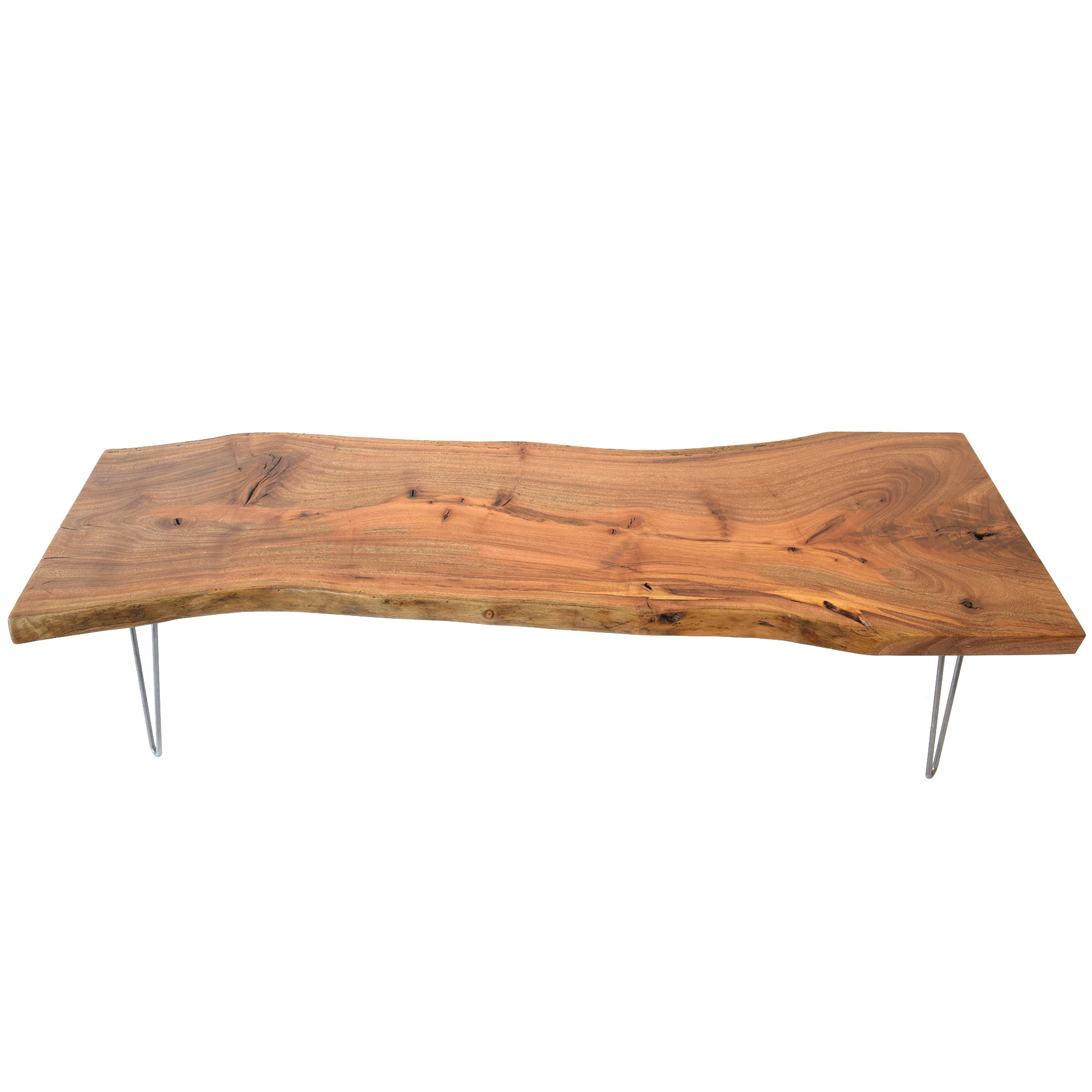 Superb Natural Light Live Edge Solid Wood Slab Tree Shape Coffee Table Creativecarmelina Interior Chair Design Creativecarmelinacom