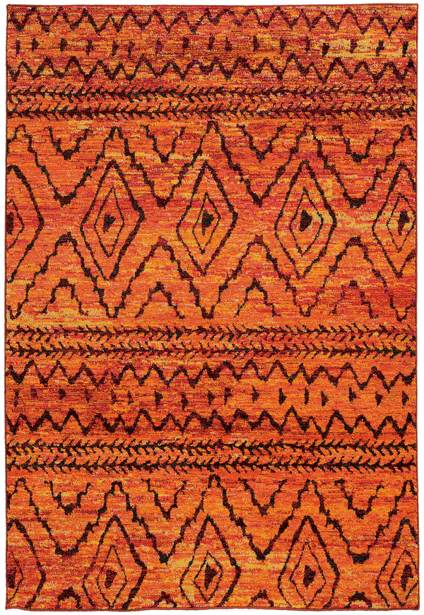Bold Color Amp Pattern Rugs Woodwaves