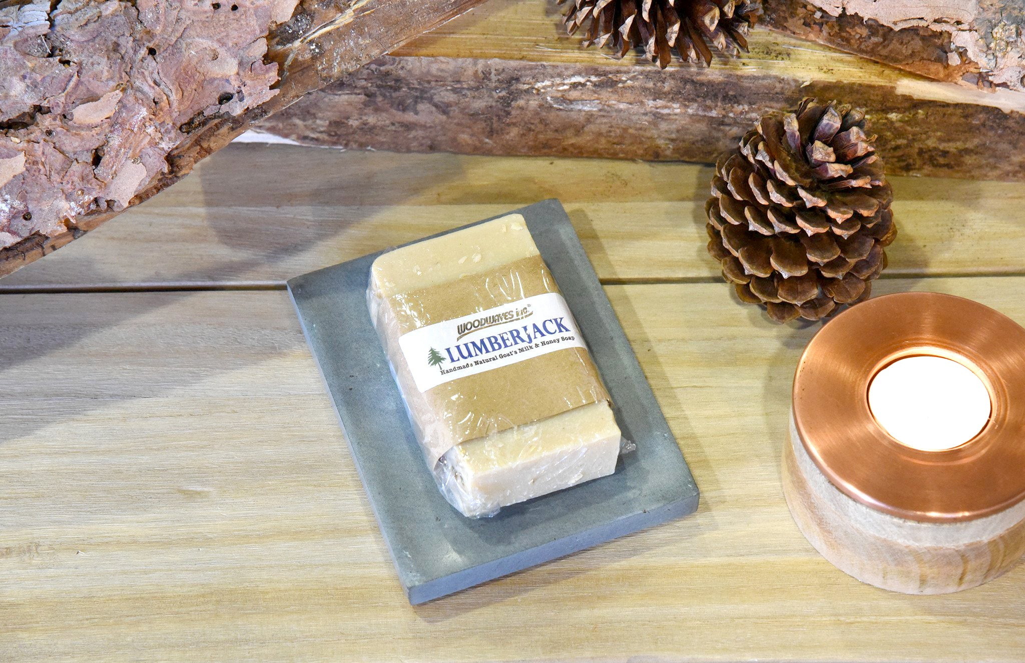 Men's Handmade Goat's Milk Bar Soap Gift Set - Lumberjack