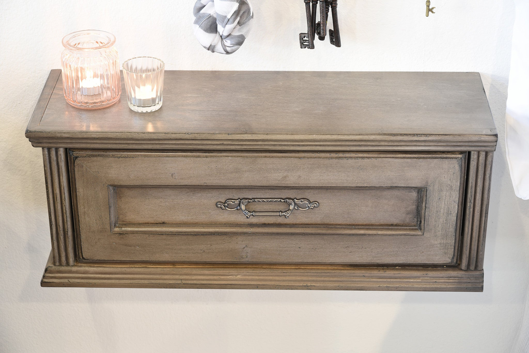 Floating Nightstand With Drawer. Floating Nightstand Floating ...