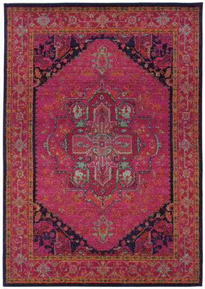 Pink Moroccan Style Rug