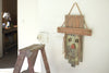Reclaimed Wood Scarecrow Doorhanger