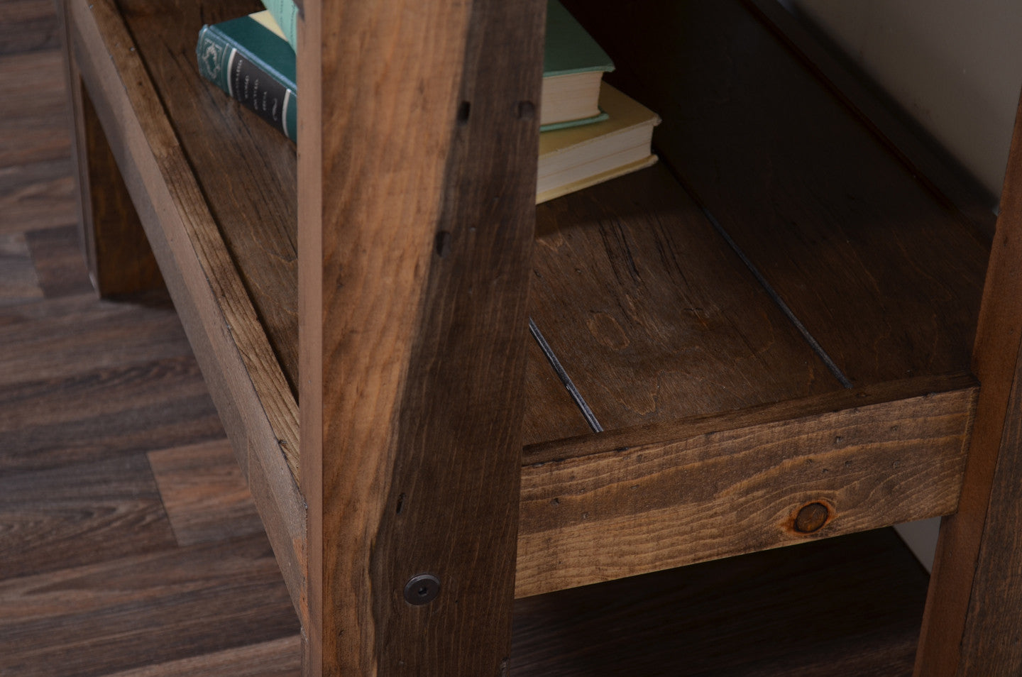 Reclaimed Side / End Table - presEARTH Spice