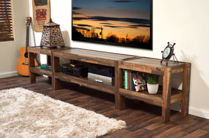 Rustic Reclaimed TV Stand Entertainment Center - presEARTH Spice