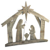 Reclaimed Wood Nativity Wall Decoration