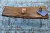 Reclaimed Wood Slab Coffee Table