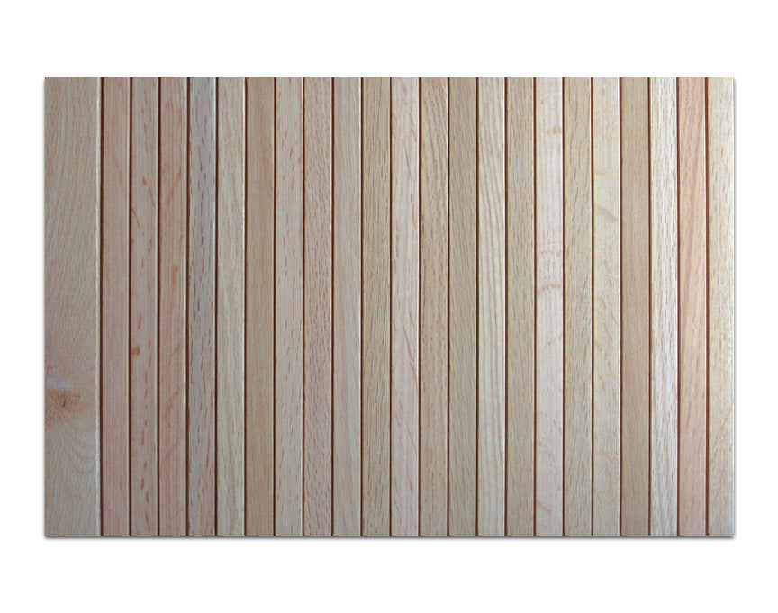 Thin Flat Tambour (Red Oak) - For Appliance Garage