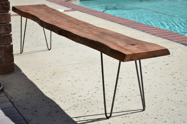 Live Edge Bench Woodwaves