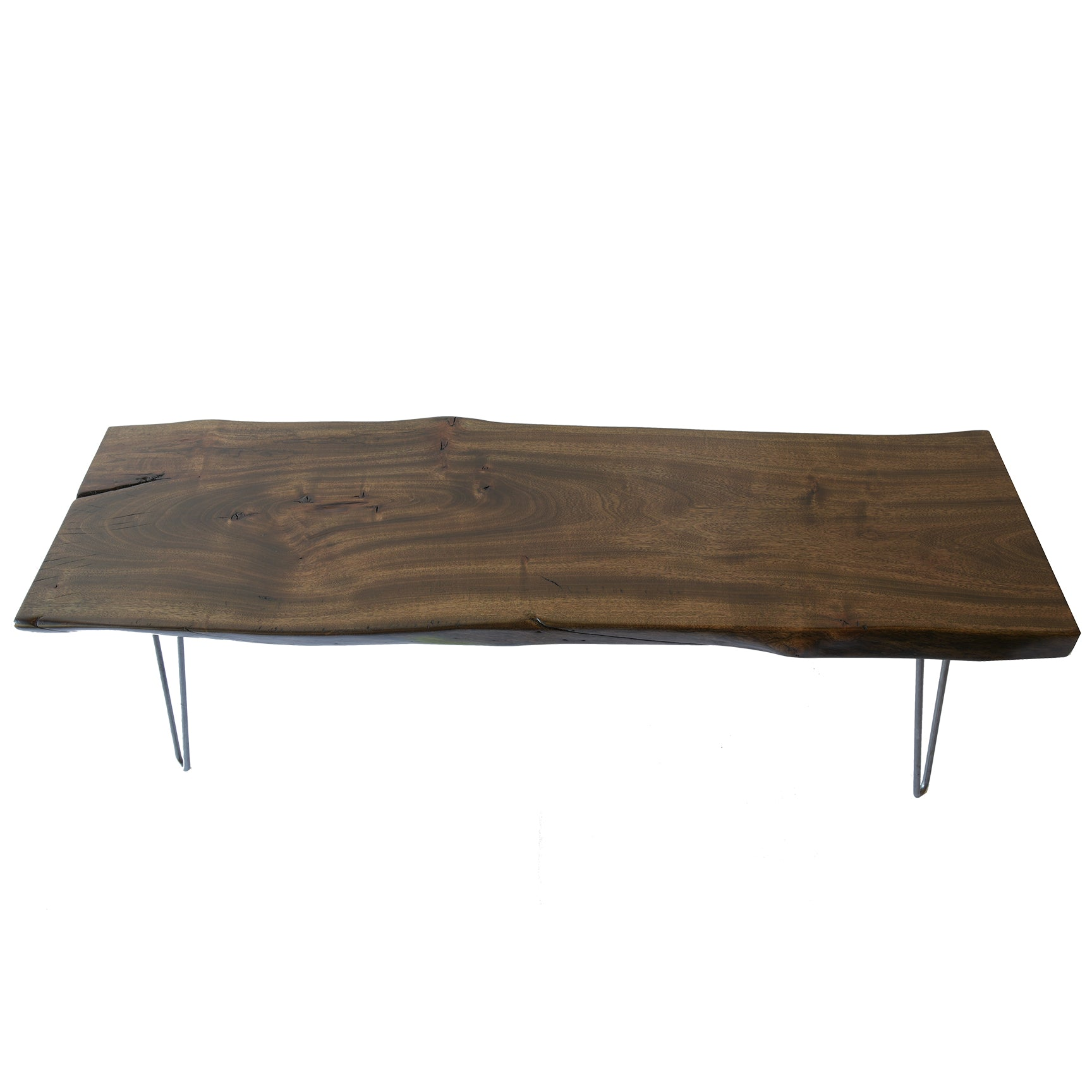 Rustic Handmade Slab Coffee Table