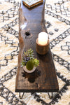 Rustic Live Edge Slab Coffee Table