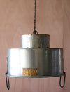 Double Cylinder Metal Pendant Lamp
