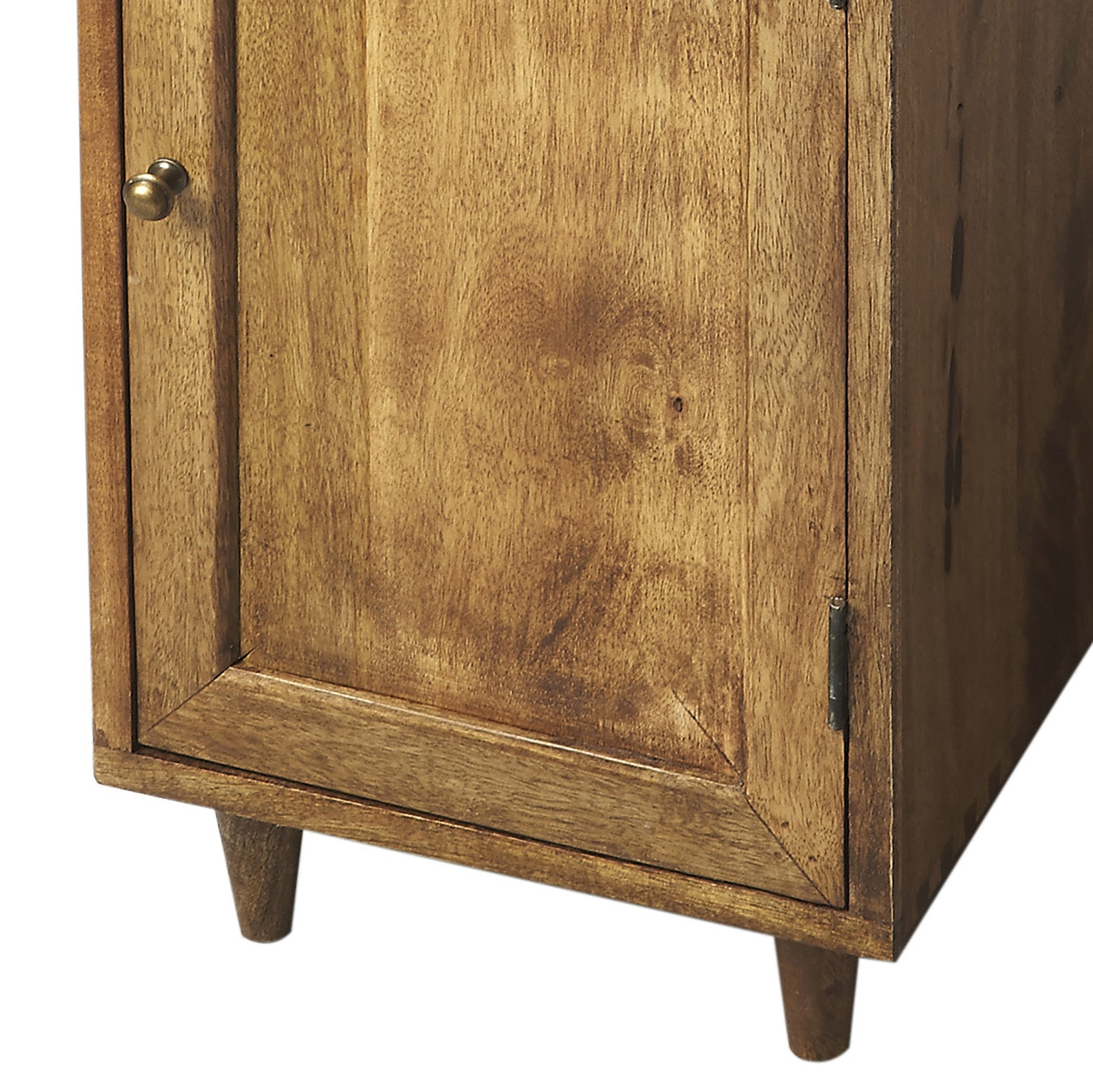Rustic end tables with storage - Mid Century Modern End Table With Storage