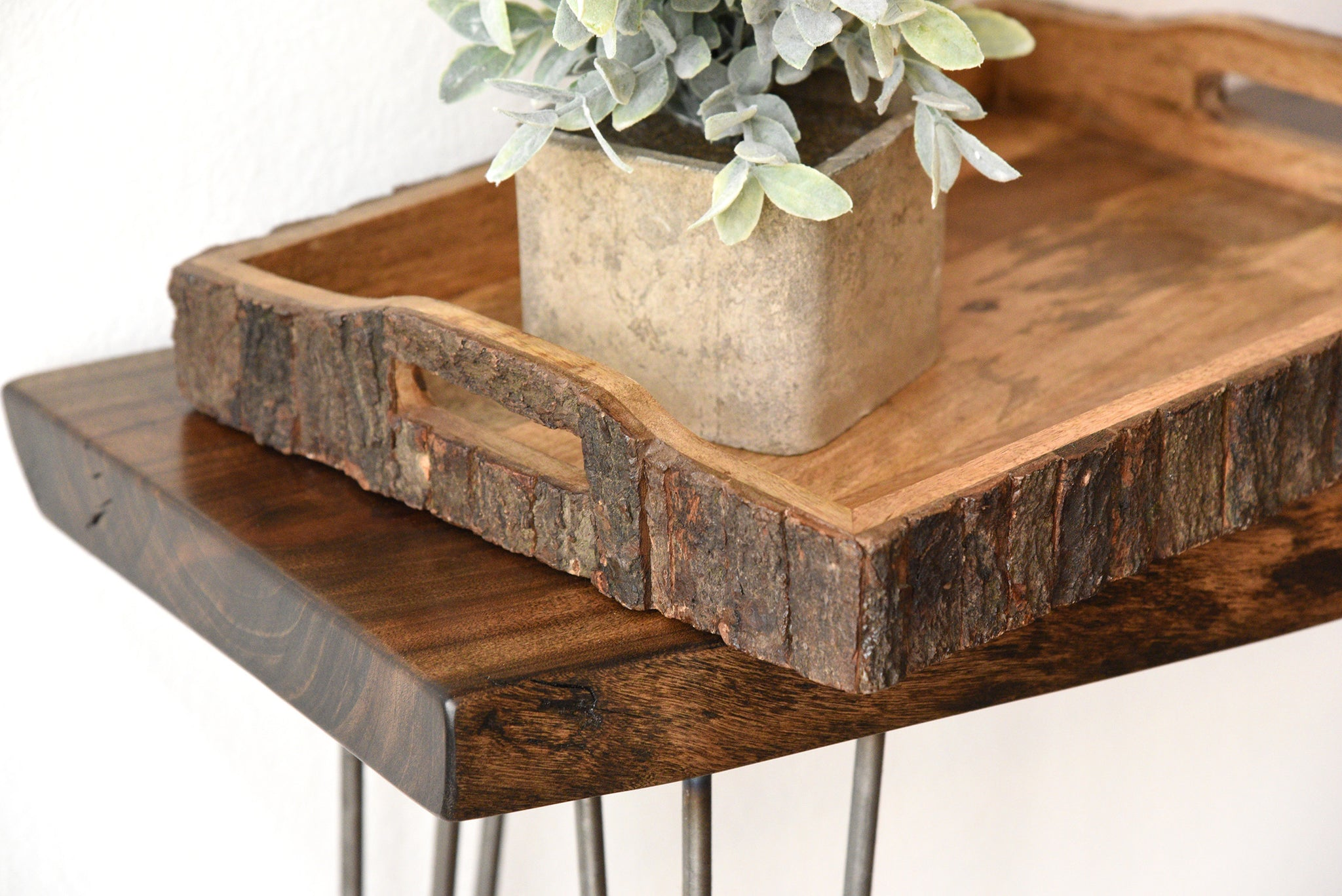 rustic wood bark serving trays  set of . rustic wood bark serving trays  set of   woodwaves