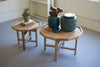 Rustic Recycled Reclaimed Wood Coffee Tables - Set of Two