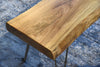 Rustic Solid Slab Coffee Table