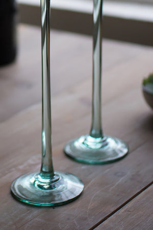 Set of 6 Modern Ultra Tall Champagne Glass Flutes