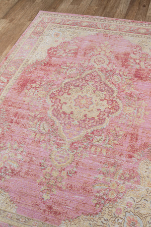 Soft Pink Shabby Chic Rug