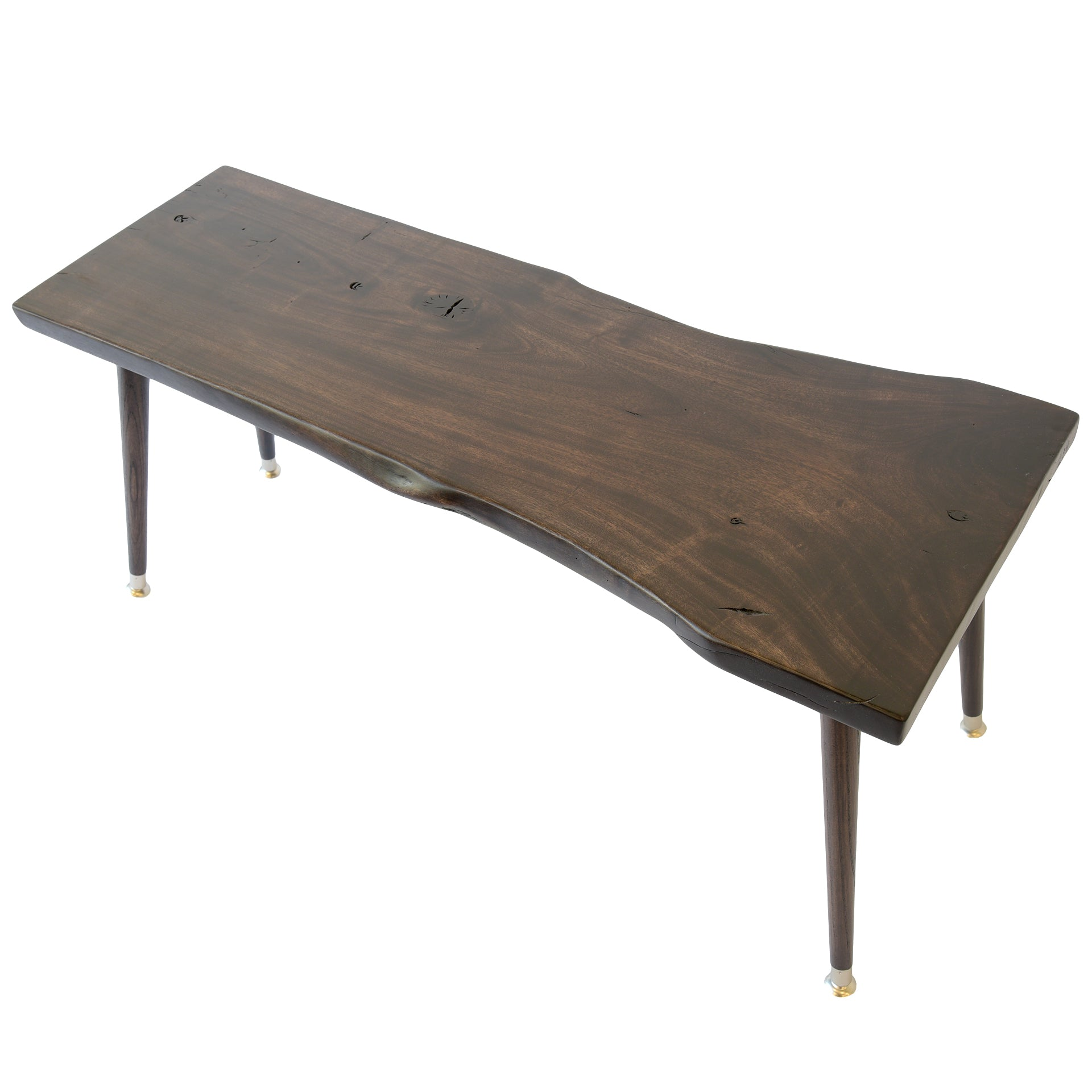 Solid Wood Reclaimed Slab Coffee Table