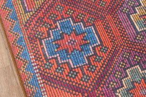 Southwest Boho Pink Orange Rug