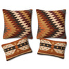 Southwest Kilim Bohemian Boho Style Four Pillow Sofa Set