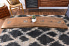 Ikat Diamond Pattern Area Rug