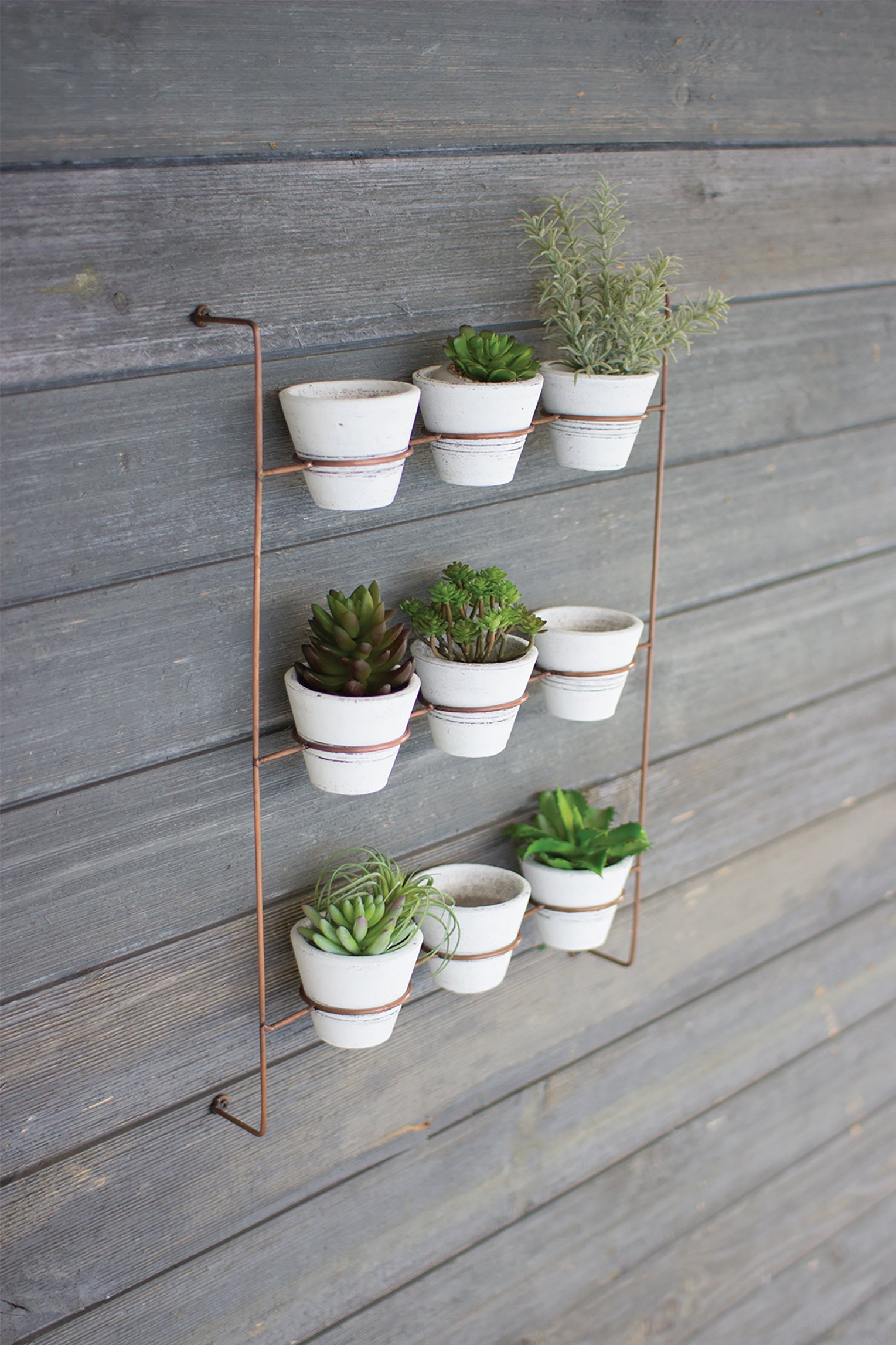 Southwest Boho Hanging Succulent Wall Planter With