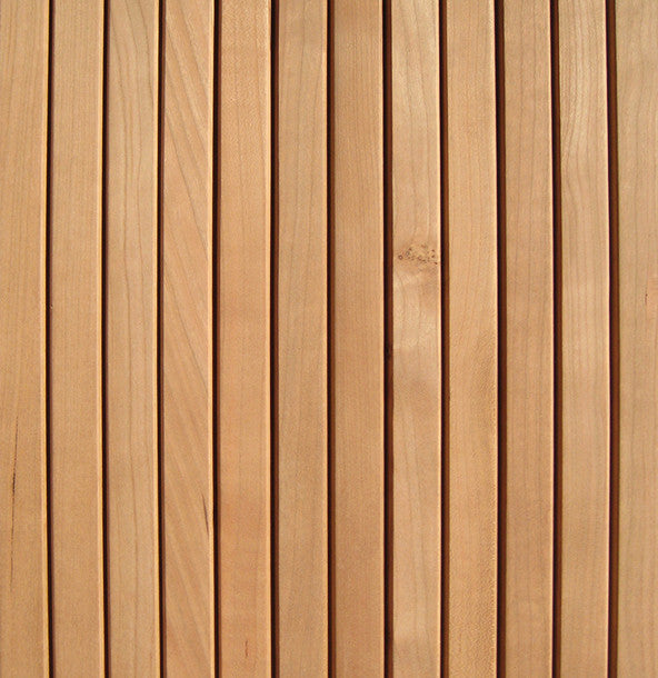Flat Tambour Cherry Woodwaves