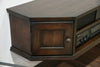 Floating Entertainment Center TV Console - Transitional - Vintage - Dark