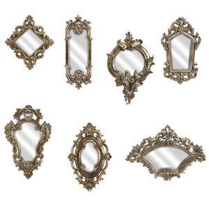 Shabby Chic Victorian Style Mirrors - Set of 7