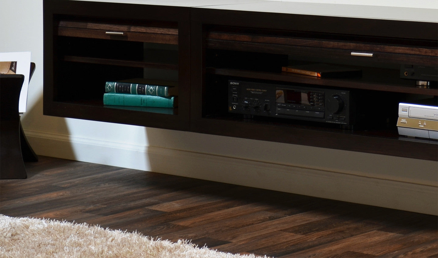 Awesome Floating Entertainment Center Tv Stand Eco Geo Espresso Woodwaves Largest Home Design Picture Inspirations Pitcheantrous