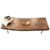 Retro Live Edge Coffee Table