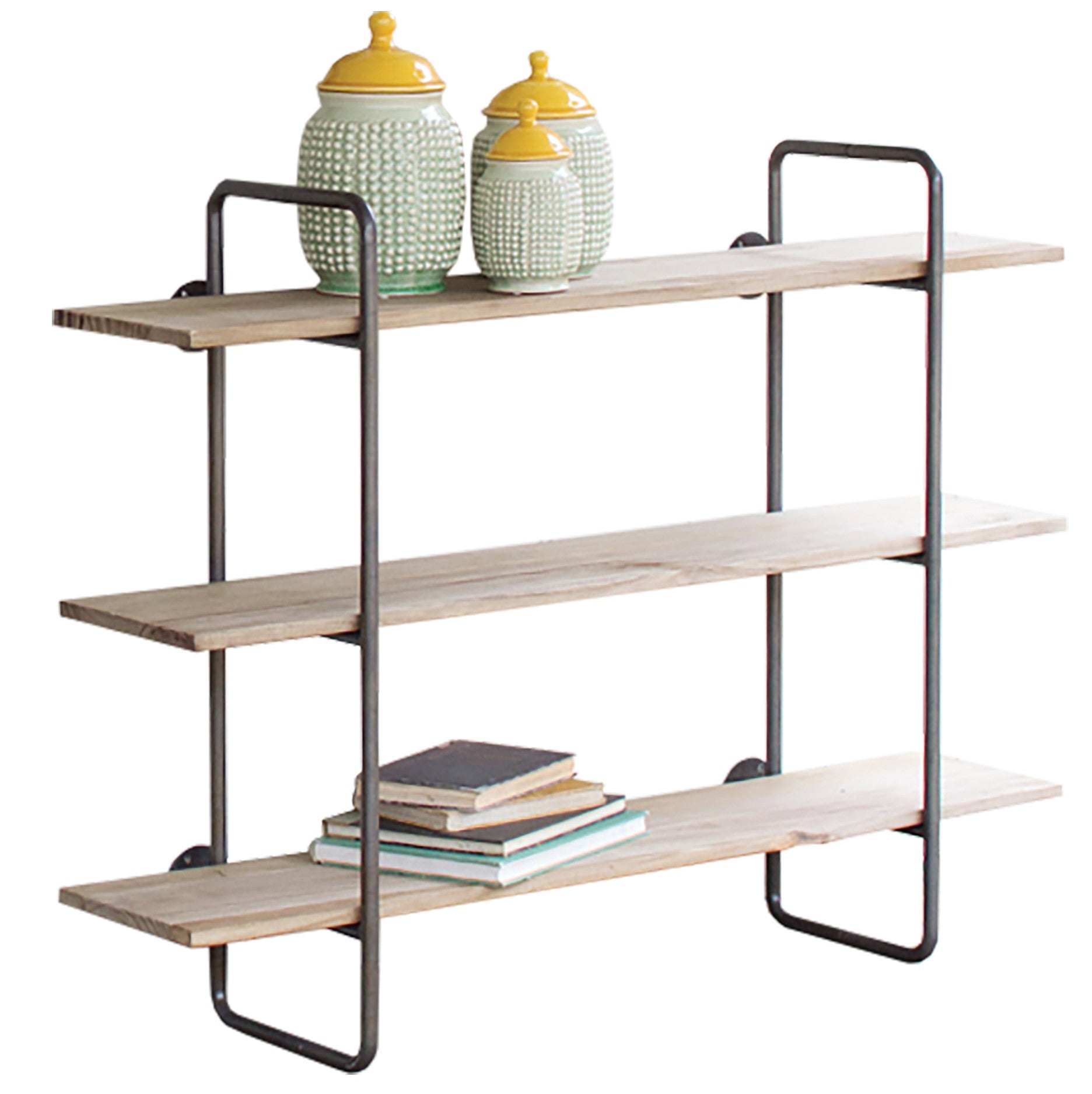 Small Industrial Modern Hanging Wall Shelf