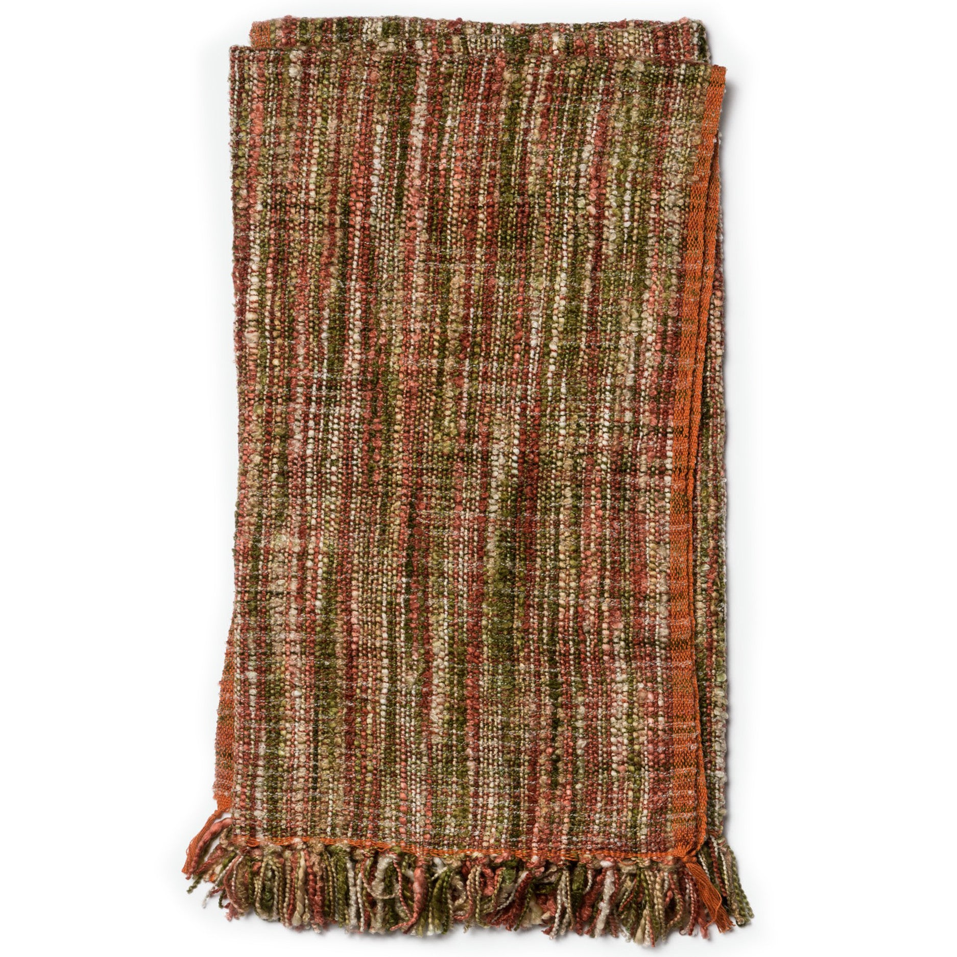 Southwest Multi Color Orange Throw Blanket