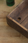 Antique Rustic Teak Wood Tray