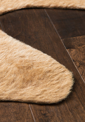 Tan Cowhide Area Rug
