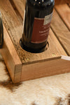 Reclaimed Wood Wine Serving Tray