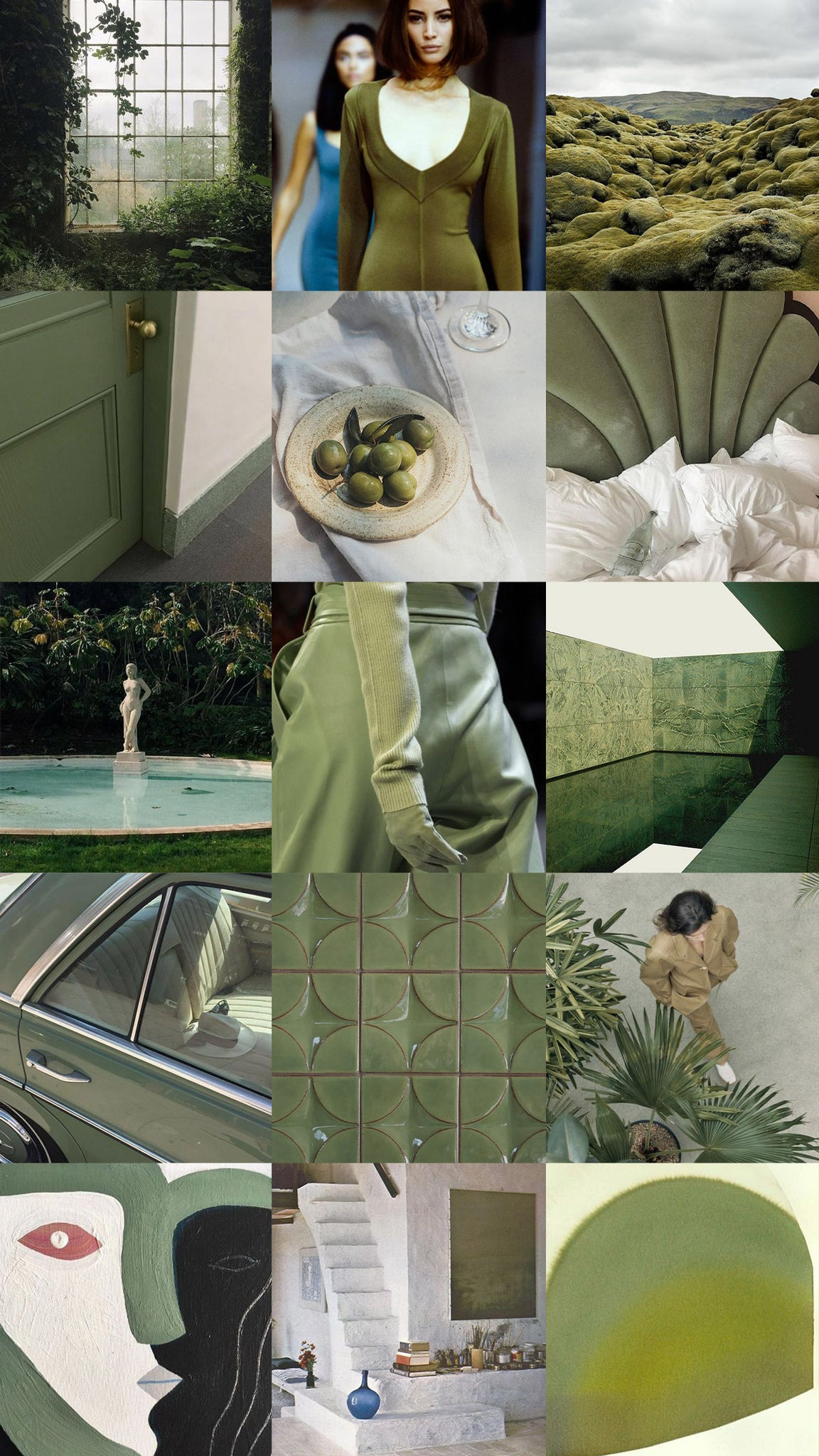 Moodboard for Moss
