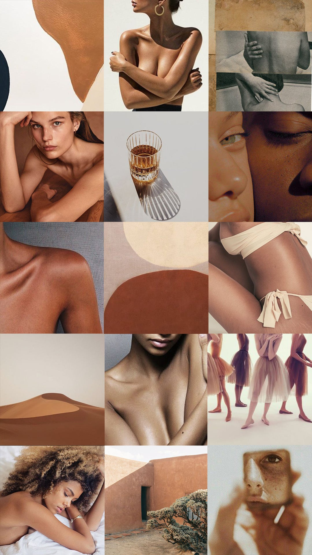 Moodboard for Clay